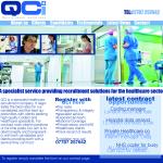 Qci- home page designed by Big Stick Web